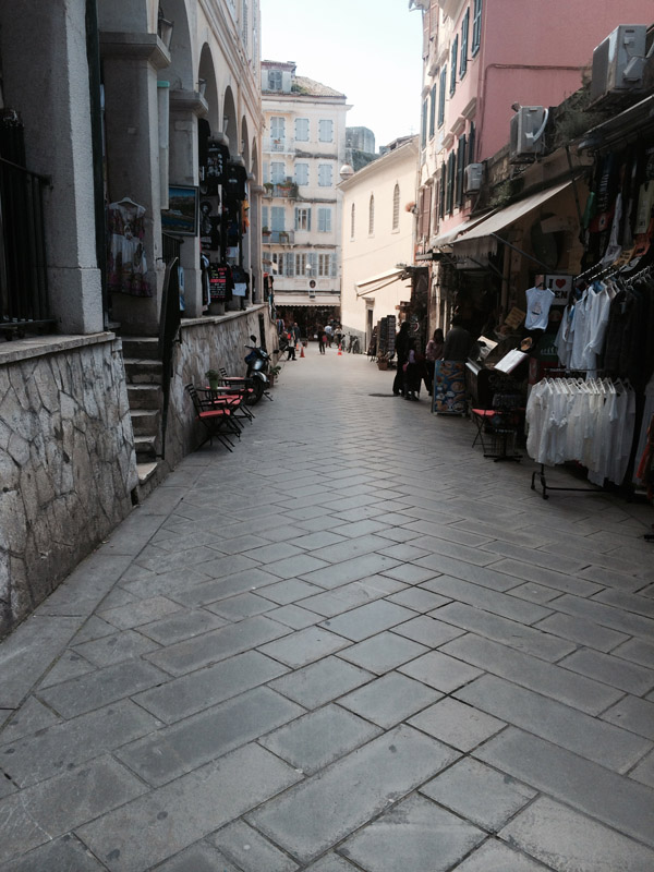 Pedestrianization of the Historic Center of Corfu