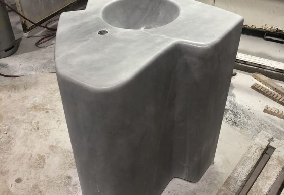 WASHBASIN ARTIC WHITE SOLID 1